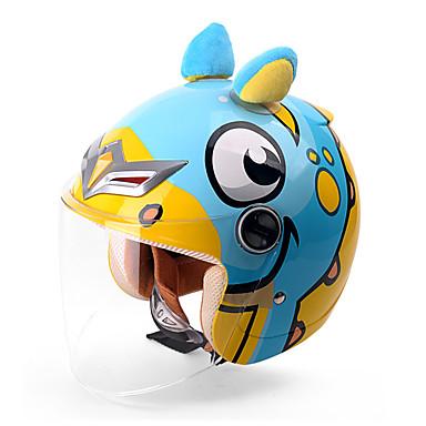 저렴한 헬맷 & 마스크-YEMA animal world 하프헬맷 아동 남여 공용 오토바이 헬멧 충격방지 / UV 차단 / 방풍