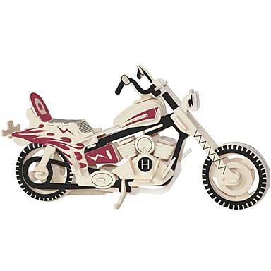 تركيب خشبي / ألعاب المنطق و التركيب الدراجات النارية مدرسة / تصميم جديد / المستوى المهني خشبي 1 pcs للأطفال / في سن المراهقة الجميع هدية