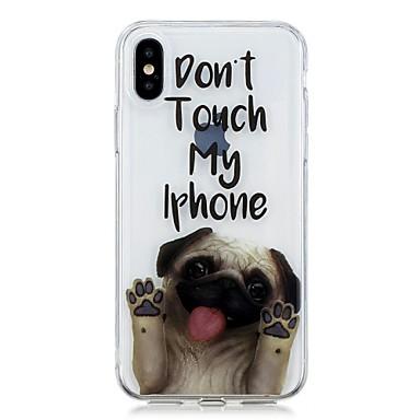 Per disegno Fantasia 8 Apple 06748105 X 8 retro iPhone per iPhone Con iPhone iPhone iPhone IMD X TPU Plus Per cagnolino 8 Morbido Custodia z8SxFF