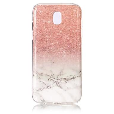 voordelige Galaxy J-serie hoesjes / covers-hoesje Voor Samsung Galaxy J5 (2017) Patroon Achterkant Marmer Zacht TPU