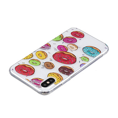 iPhone iPhone Morbido per Plus 06821933 iPhone 8 Alimenti Per Per 8 iPhone Plus Fantasia IMD X Custodia retro X iPhone Apple 8 disegno TPU OFIZqEw