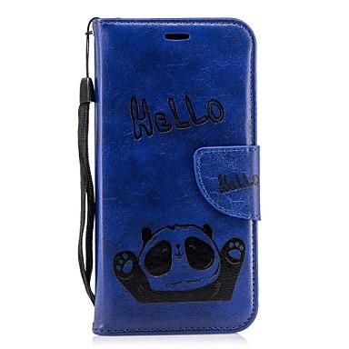 Con retro portafoglio iPhone iPhone 06812424 iPhone 8 Per carte supporto 8 Resistente X 8 Porta A iPhone Plus per Plus di Apple TPU Panda credito iPhone Custodia X Per FOnxna