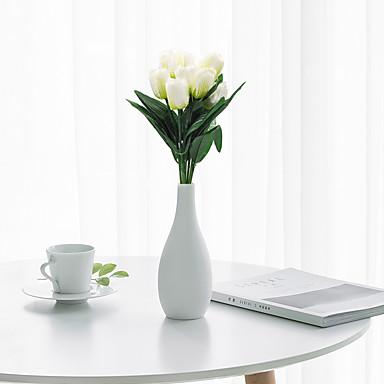زهور اصطناعية 1 فرع كلاسيكي الحديث المعاصر النمط الرعوي أزهار التولب أزهار الطاولة