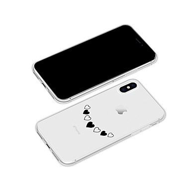 disegno iPhone Plus iPhone Plus iPhone X 8 Per per cuori Con retro iPhone Fantasia 06831212 8 Custodia X Morbido Apple TPU 8 Per iPhone pwqxn1ER