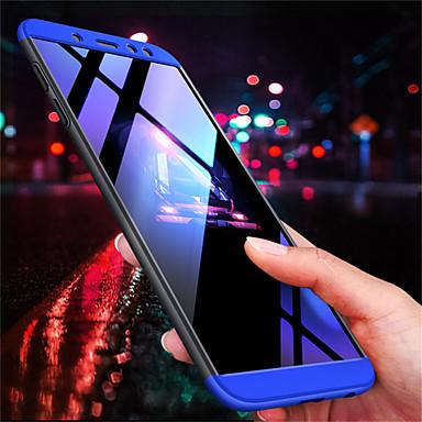 غطاء من أجل Samsung Galaxy A6 (2018) / A8 2018 / A8+ 2018 مثلج غطاء خلفي لون سادة قاسي الكمبيوتر الشخصي