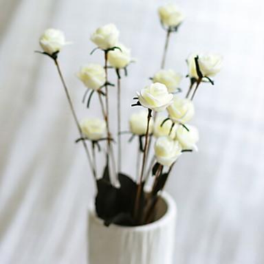 زهور اصطناعية 14 فرع كلاسيكي الحديث المعاصر أسلوب بسيط الورود أزهار الطاولة