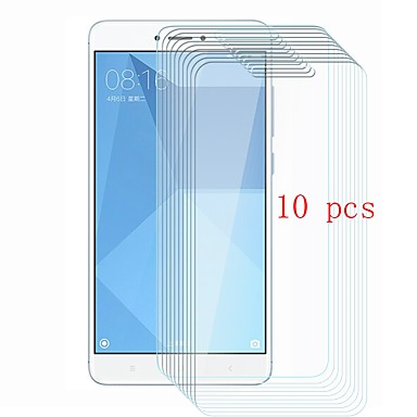 XIAOMIScreen ProtectorXiaomi Redmi Note 4 9Hقسوة حامي شاشة أمامي 10قطع زجاج مقسي