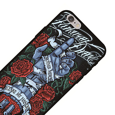 Custodia Morbido 06833842 Teschi disegno iPhone per 8 TPU X Fantasia Per 8 Plus X iPhone iPhone Per 8 iPhone retro Apple iPhone FwvPxrF