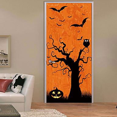 لواصق حائط مزخرفة / ملصقات الباب - ملصقات الحائط الحيوان مناظر طبيعية / Halloween غرفة الجلوس / غرفة النوم / دورة المياه