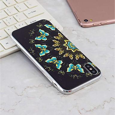 iPhone Plus Custodia Farfalla per iPhone iPhone 8 Per retro 8 06812255 TPU X Apple iPhone iPhone X 8 Morbido Per disegno Fantasia Plus cWpcZPT
