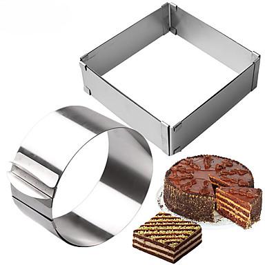 2pcs الفولاذ المقاوم للصدأ قادم جديد اصنع بنفسك Everyday Use أدوات المطبخ الحديثة أدوات حلوى أدوات خبز