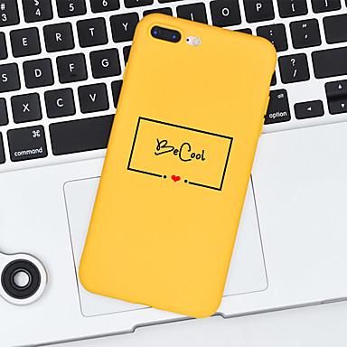 غطاء من أجل Apple iPhone X / iPhone 8 Plus / iPhone 8 نموذج غطاء خلفي جملة / كلمة ناعم TPU