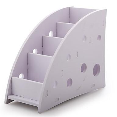PVC مثلث إبداعي الصفحة الرئيسية منظمة, 1PC منظمو سطح المكتب