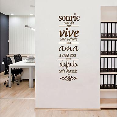 لواصق حائط مزخرفة - لواصق حائط الطائرة الأحرف غرفة الجلوس / المكتب