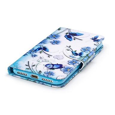 06787574 Fiore iPhone pelle Resistente magnetica iPhone 8 iPhone Apple Integrale chiusura di credito 8 Custodia 7 Porta per carte sintetica 7 decorativo iPhone portafoglio Con Per A HaBgwF