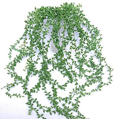 زهور اصطناعية 1 فرع معلقة على الحائط الحديث المعاصر النمط الرعوي النباتات العصارية أزهار الحائط