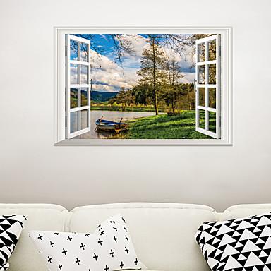 لواصق حائط مزخرفة - لواصق حائط الطائرة / لواصق مناظر طبيعية غرفة الجلوس / غرفة النوم / دورة المياه