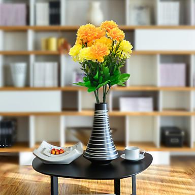 زهور اصطناعية 1 فرع كلاسيكي أسلوب بسيط الحديث قرنفل أزهار الطاولة