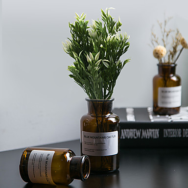 زهور اصطناعية 1 فرع كلاسيكي أسلوب بسيط الحديث نباتات أزهار الطاولة
