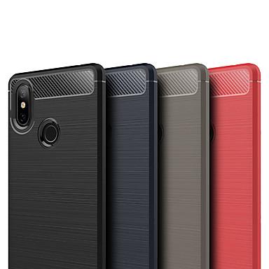 ASLING غطاء من أجل Xiaomi Mi 8 SE مثلج غطاء خلفي لون سادة ناعم TPU إلى Xiaomi Mi 8 SE