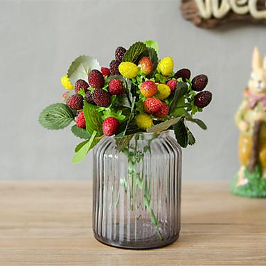 زهور اصطناعية 1 فرع كلاسيكي الحديث المعاصر النمط الرعوي فاكهة أزهار الطاولة