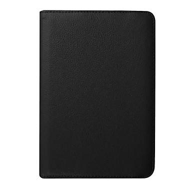 غطاء من أجل Samsung Galaxy Tab S2 8.0 مع حامل غطاء كامل للجسم لون سادة قاسي جلد PU