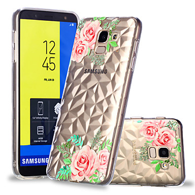 غطاء من أجل Samsung Galaxy J7 (2017) / J6 / J5 (2017) نموذج غطاء خلفي زهور ناعم TPU