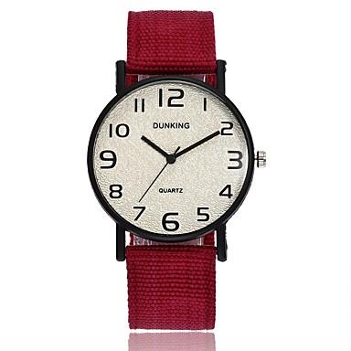 f4a7af094111b رجالي نسائي ساعة المعصم كوارتز أسود   أزرق   أحمر تصميم جديد ساعة كاجوال  كوول مماثل