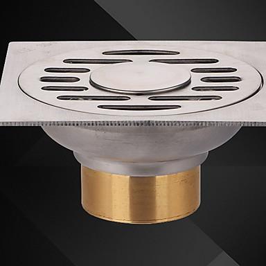 مصفاة تصميم جديد / كوول معاصر نحاس / الفولاذ المقاوم للصدأ / الحديد 1PC تصرف تثبيت على الأرض