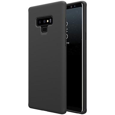 Недорогие Чехлы и кейсы для Galaxy Note-Кейс для Назначение SSamsung Galaxy Note 9 Защита от удара / Детский Безопасный случай Кейс на заднюю панель Однотонный Мягкий Силикон