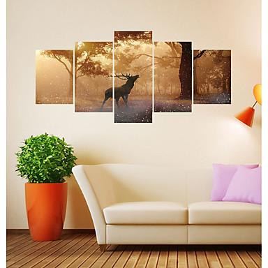 لواصق حائط مزخرفة - لواصق / ملصقات الحائط الحيوان حيوانات / الأزهار / النباتية غرفة الجلوس / غرفة دراسة / مكتب