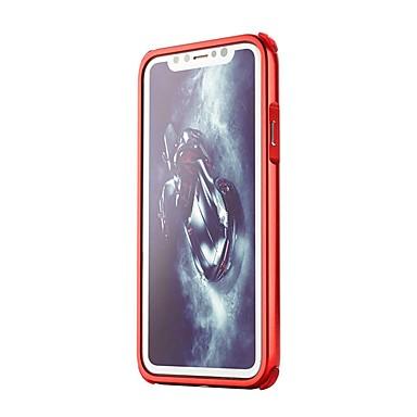 Resistente Apple unita Per Resistente iPhone retro iPhone X iPhone 06878722 Tinta Alluminio urti Plus 8 agli iPhone iPhone Custodia 8 per Per 8 X Placcato Cfx6qx5w