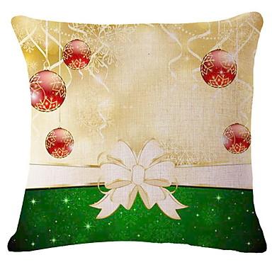 غطاء الوسادة عطلة قطن مستطيل حزب / حداثة زينة عيد الميلاد