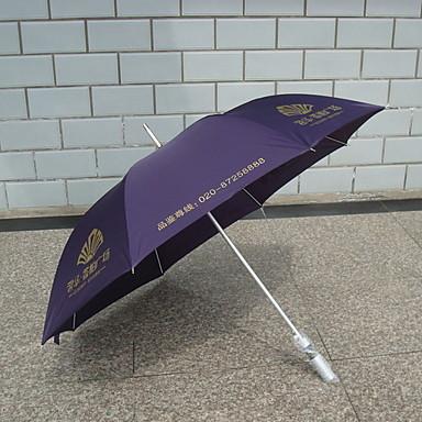 ستانلس ستيل الجميع مشمس وممطر / تصميم جديد مظلة مستقيمة