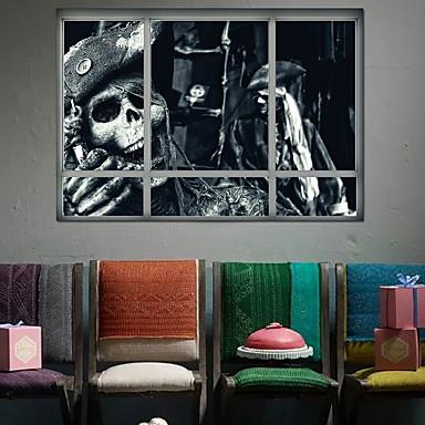 لواصق حائط مزخرفة - لواصق حائط الطائرة Halloween غرفة النوم