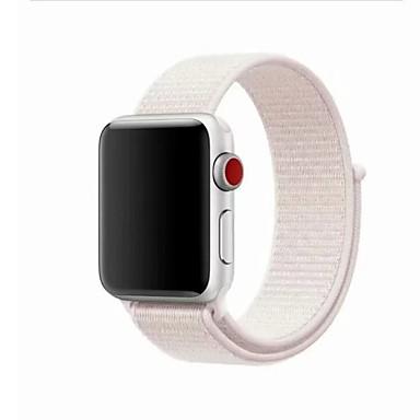 Χαμηλού Κόστους Ανδρικά ρολόγια-Νάιλον Παρακολουθήστε Band Λουρί για Apple Watch Series 4/3/2/1 Μπλε / Πράσινο / Γκρι 23 εκατοστά / 9 ίντσες 2.1cm / 0.83 Ίντσες