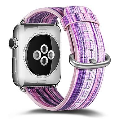 Χαμηλού Κόστους Ανδρικά ρολόγια-γνήσιο δέρμα Παρακολουθήστε Band Λουρί για Apple Watch Series 4/3/2/1 Μπλε 23 εκατοστά / 9 ίντσες 2.1cm / 0.83 Ίντσες