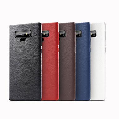 غطاء من أجل Samsung Galaxy Note 9 مثلج غطاء خلفي لون سادة ناعم جلد PU