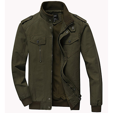160d4e511c cheap Men's Jackets-Men's Daily Street chic · Men's Daily Street  chic Fall & Winter Plus Size ...
