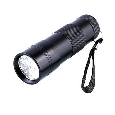 Siyah Işıklı Fenerler 5mm Lamba 1 Kip D09UV-1-0-1 - Su Geçirmez / Ultraviyole Işık