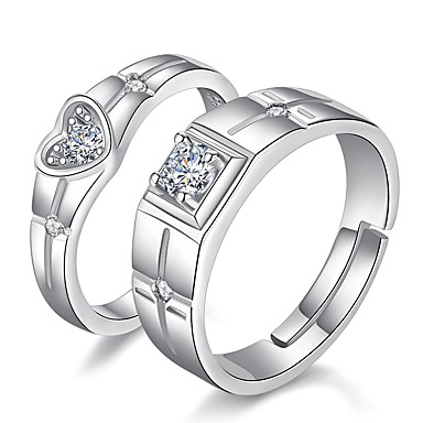 84fa03ec0b cheap Couple Rings-Couple's Classic Matching His And Her Couple Rings
