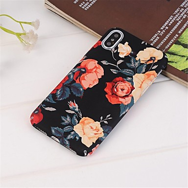 Coque Pour Apple iPhone XR / iPhone XS Max Motif Coque Fleur Dur PC pour iPhone XS / iPhone XR / iPhone XS Max