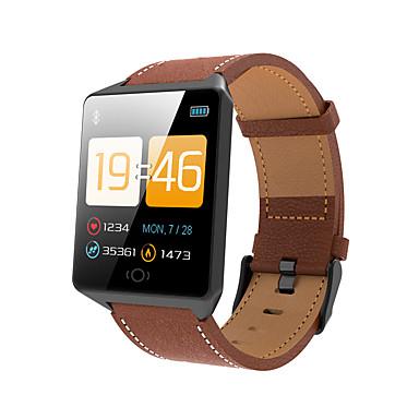 Indear CK12 رجالي سوار الذكية Android iOS بلوتوث رياضات ضد الماء رصد معدل ضربات القلب أصفر فاتح شاشة لمس عداد الخطى تذكرة بالاتصال متتبع النشاط متتبع النوم تذكير المستقرة / أجد هاتفي / ساعة منبهة