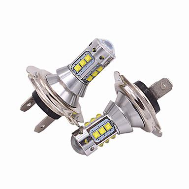 cheap Car Headlights-2pcs H7 Car Light Bulbs 50W High Performance LED 5000lm Headlamp