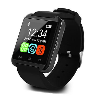 billige Herreure-U8 Herre Smartur Android iOS Bluetooth Sport Touch-skærm Brændte kalorier Temperatur Display Smart Etui Aktivitetstracker Vækkeur / Handsfree opkald / Mediakontrol / Beskedkontrol