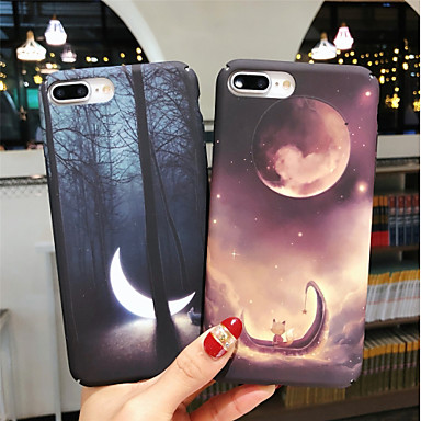 voordelige iPhone 7 hoesjes-hoesje Voor Apple iPhone XS / iPhone XR / iPhone XS Max Glow in the dark / Patroon Achterkant Landschap Hard PC