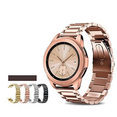 voordelige Horlogebandjes voor Samsung-Horlogeband voor Samsung Galaxy Watch 46 Samsung Galaxy Sportband Roestvrij staal Polsband