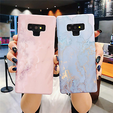 voordelige Galaxy Note-serie hoesjes / covers-hoesje Voor Samsung Galaxy Note 9 / Note 8 Glow in the dark / Patroon Achterkant Marmer Hard PC