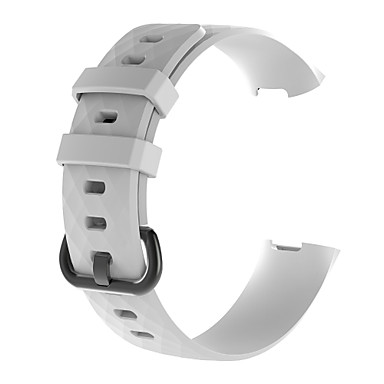 voordelige Smartwatch-accessoires-Horlogeband voor Fitbit Charge 3 Fitbit Sportband Silicone Polsband