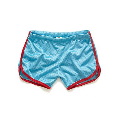 economico Abbigliamento uomo-Per uomo Per sport / Attivo Sport Casual Taglia piccola / Pantaloncini Pantaloni - Tinta unita / Monocolore Giallo Azzurro chiaro Royal Blue XL XXL XXXL / Estate